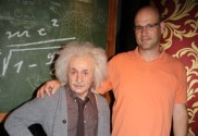 Jens Tell und Albert Einstein
