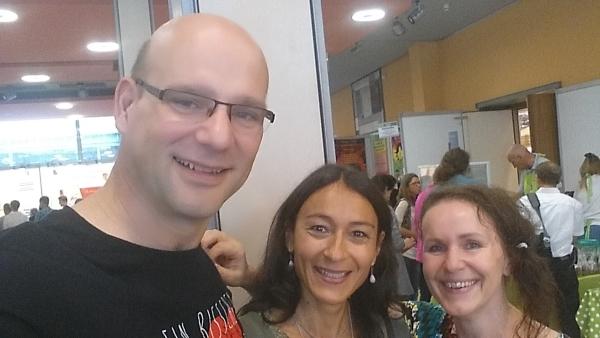 Treffen mit Britta Lambert auf der Rohvolution Speyer