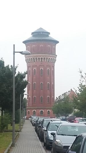 Rohvolution Speyer in der Nähe vom Wasserturm